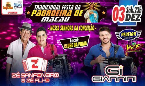 FESTA DA PADROEIRA DE MACAU - 03-12-16