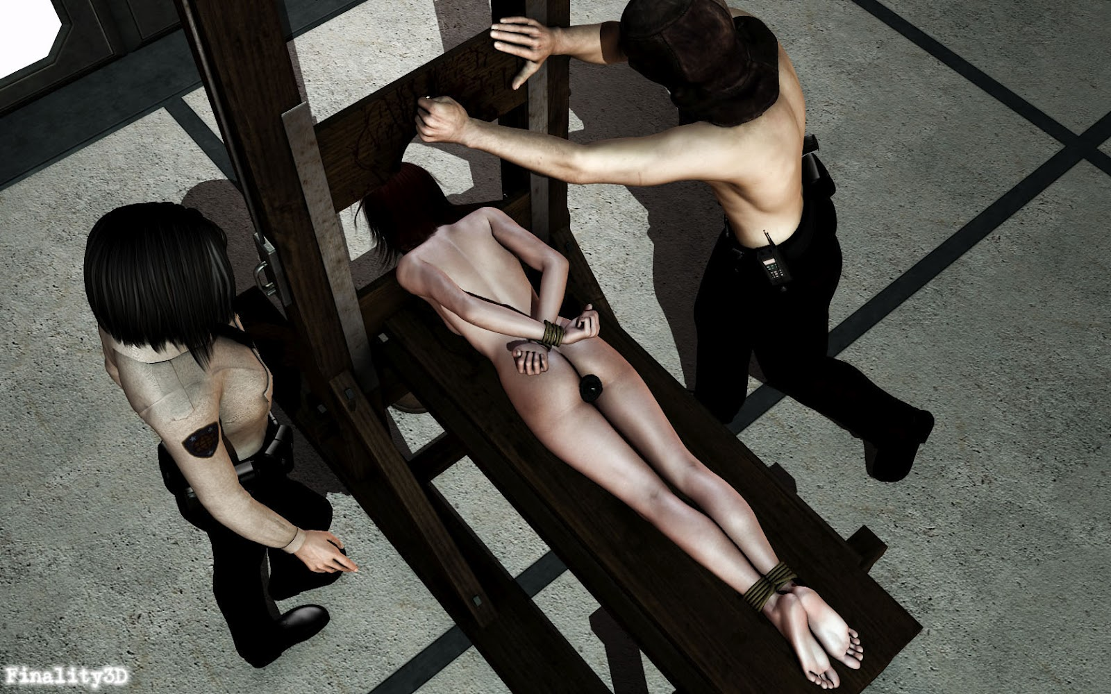 Execution erotic fantasy xxx scene