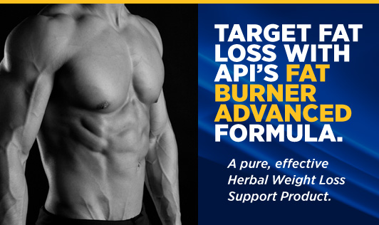 API Fat Burner Banner