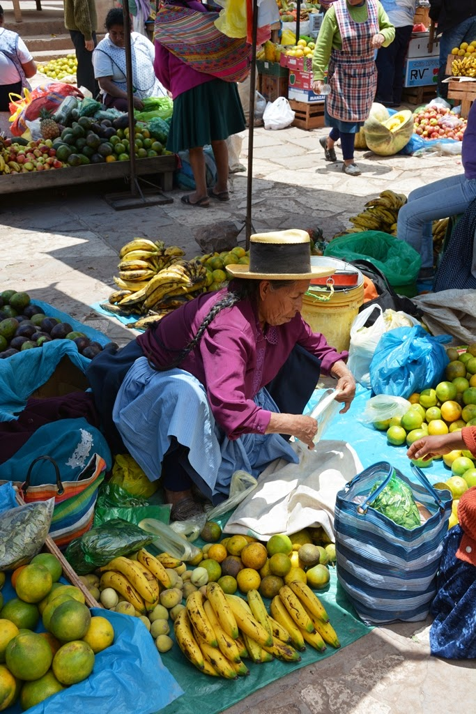 Pisac Market fruit
