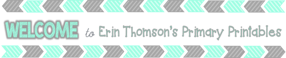 Mrs. Thomson's Primary Printables