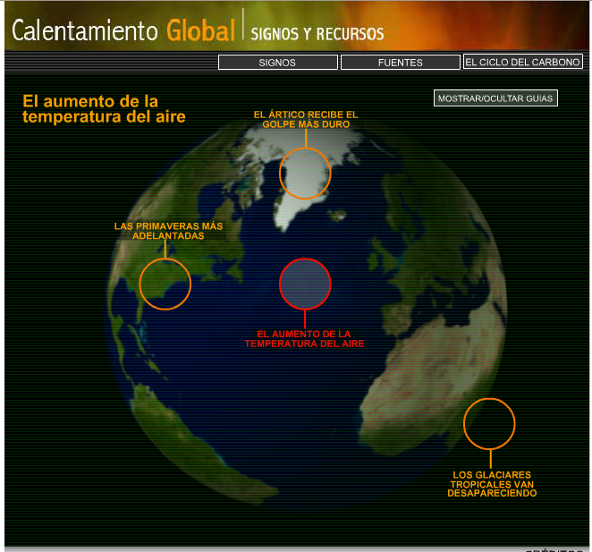 http://www.tudiscovery.com/calentamientoglobal/mainpage.swf