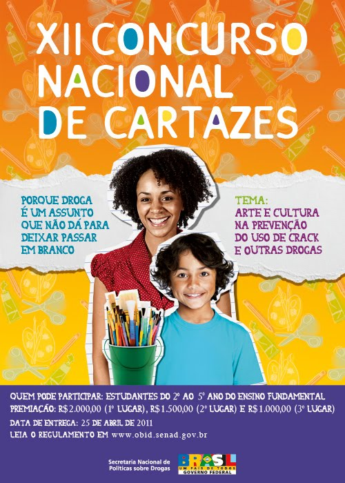 CONCURSO NACIONAL CONTRA AS DROGAS