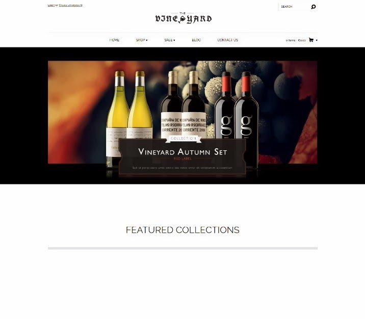 WineYard - Responsive Shopify Theme