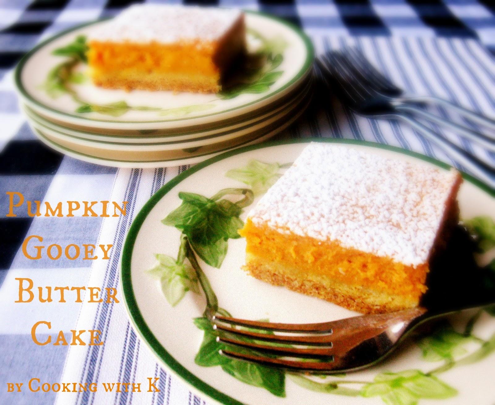 ... Pumpkin Gooey Butter Cake {My all time favorite pumpkin dessert