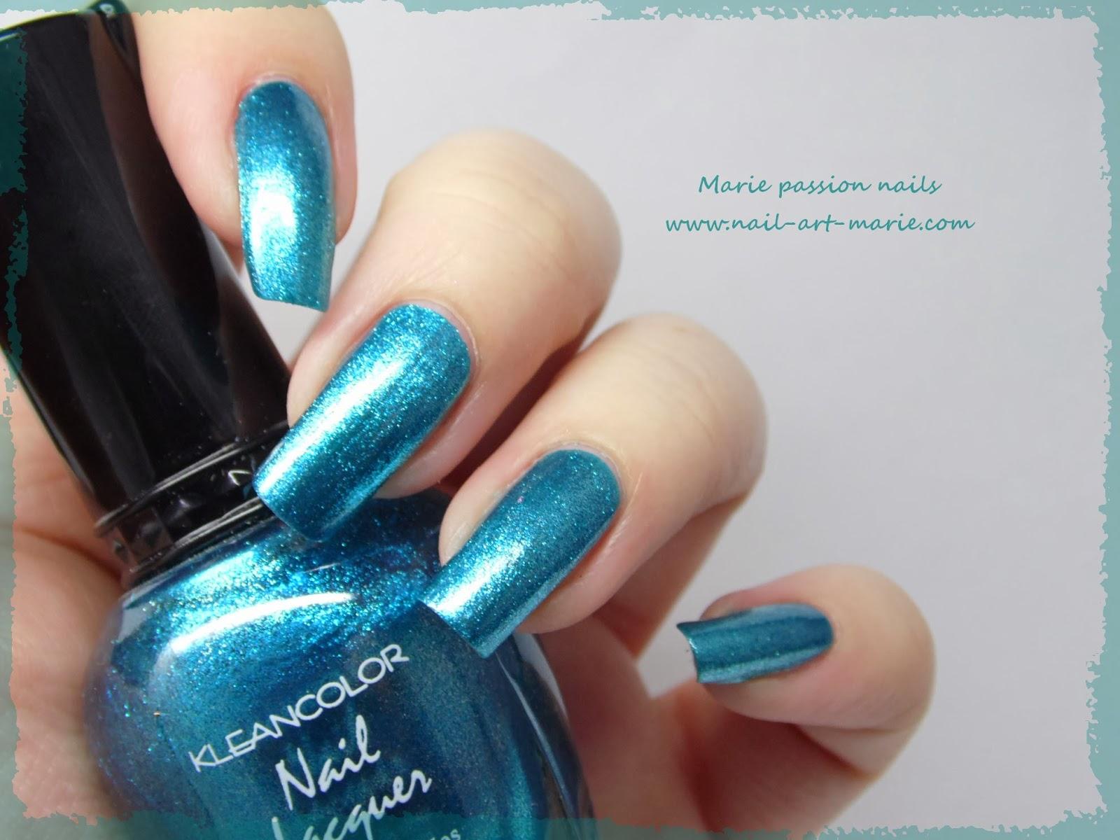 Kleancolor Metallic Aqua6