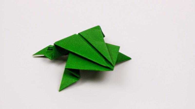 Origami Action - Katak Loncat