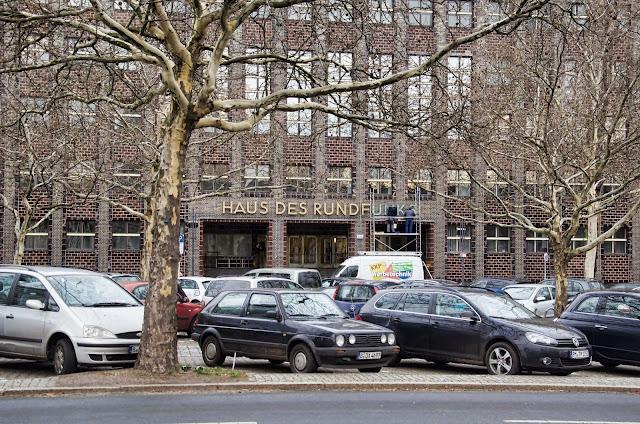 Baustelle Haus des Rundfunks, RBB, Masurenallee 8-14 14057 Berlin, 02.01.2014