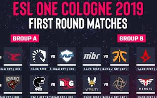 [CS:GO] Lịch thi đấu và bảng đấu chính thức của ESL One Cologne 2019