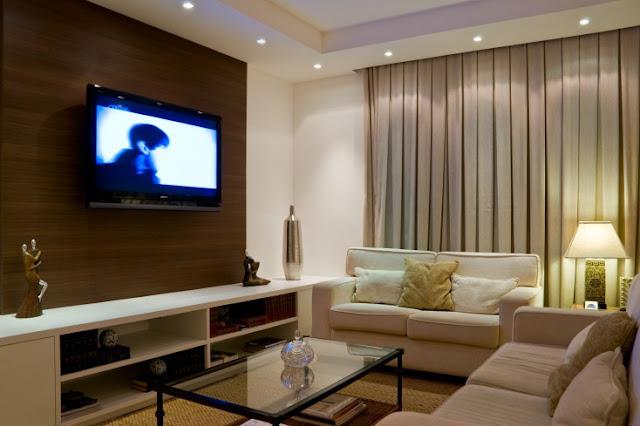 Meu Palácio de 64m² Inspiração do dia  Linda sala decorada!