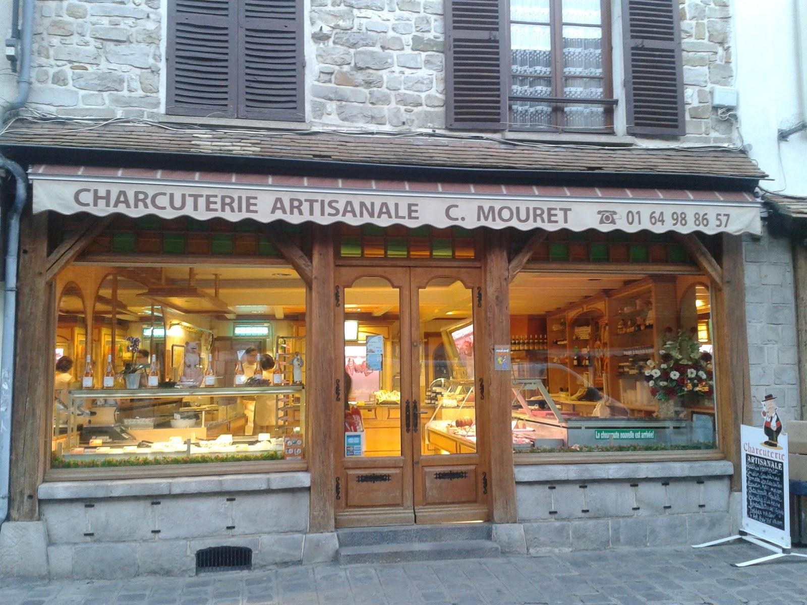Histoire des commerces de milly la foret: n°9   place du marche ...