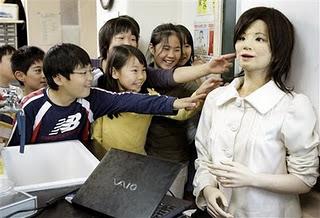 Gambar Robot pengajar