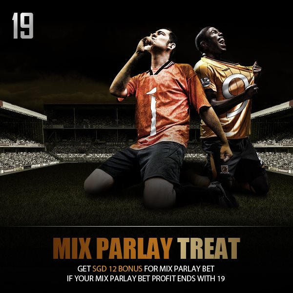 19 Days left on our Christmas countdown 2012 and todays theme is MIX PARLAY TREAT.