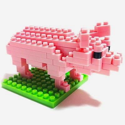 Cerdo Bloques de Construcción