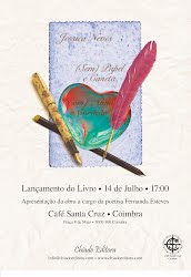 """LANÇAMENTO DO LIVRO """"(SEM) PAPEL E CANETA, (COM) ALMA E CORAÇÃO"""" DE JESSICA NEVES (JULHO 2012)"""