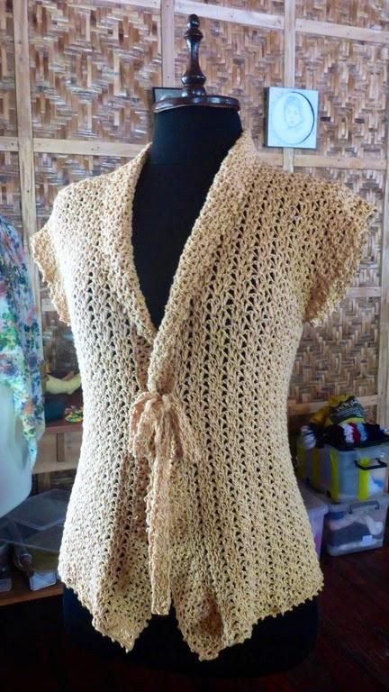 Crochetology By Fatima A Simple Crochet Cardigan