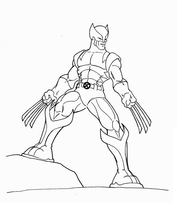 Comment dessiner des heros - Dessiner un super heros facile ...