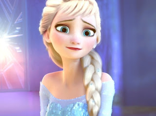 Elsa Frozen sedih