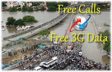 BSNL Free 3G Calls for Chennai Flood Users