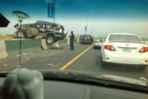 3rd mainland bridge car accident