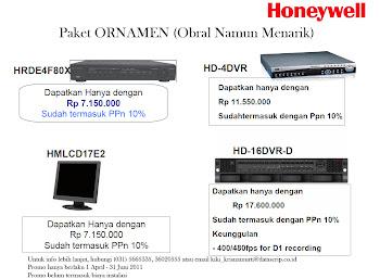 Paket ORNAMEN Honeywell