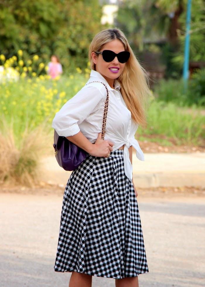 בלוג אופנה Vered'Style אאוטפיט כייפי ליום כיף