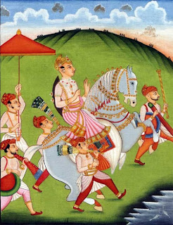 Maharaja Chhatrasal Painting