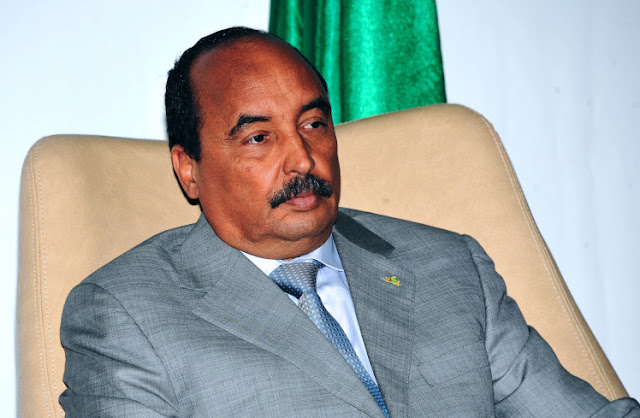 Mohamed Ould Abdel Aziz wanted to mix things up (Picture: AFP)