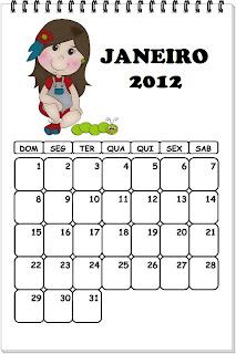 calendario para sala de aula
