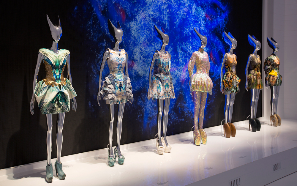 "Installation view of ""Platos Atlantis"" gallery, 27. Alexander McQueen ""Plato's Atlantis"" Spring/Summer 2010 collection"