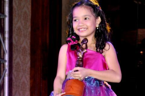 Xyriel Manabat wins 2012 FAMAS Best Child Actress, now competing with veterans for Best Actress at the 2012 Star Awards for TV