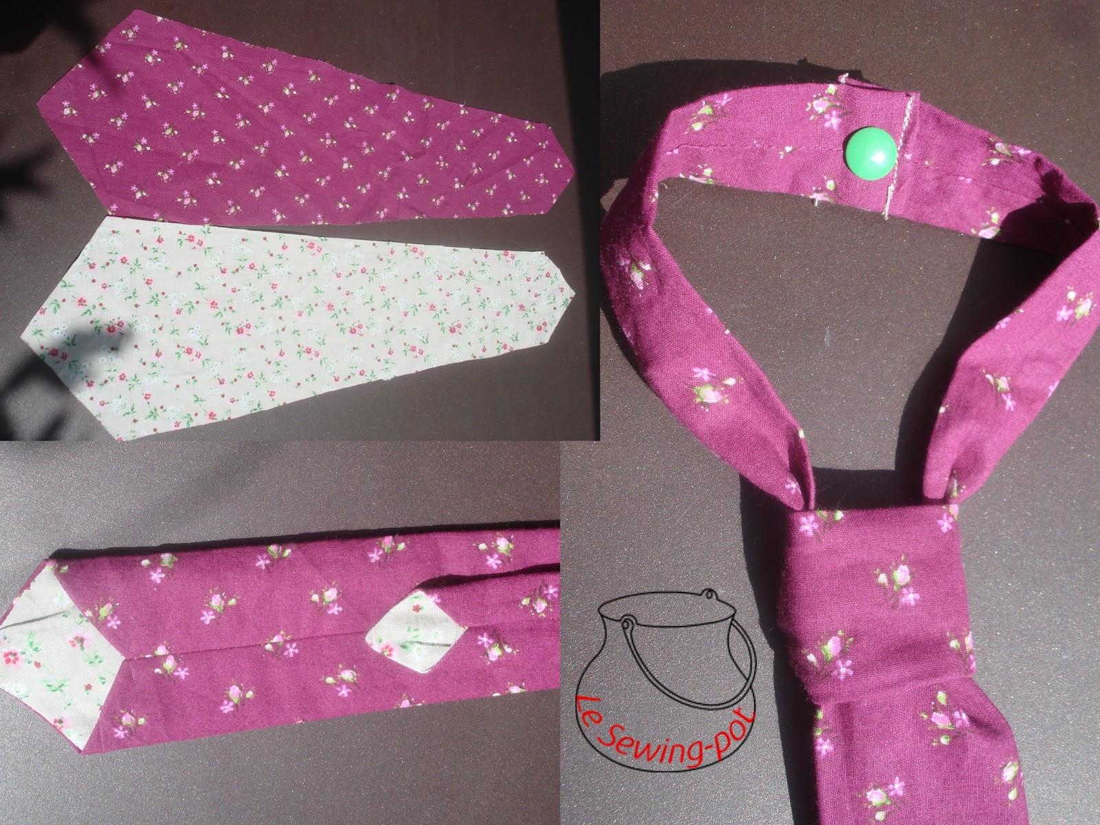 le sewing pot cravate enfant child 39 s tie. Black Bedroom Furniture Sets. Home Design Ideas