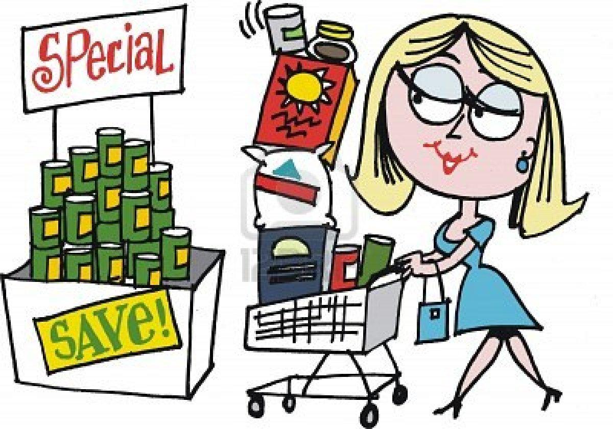 DueÑa de casa primera compra del supermercado