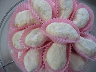 Resep Kue Kering Putri Salju dan Cara Membuat