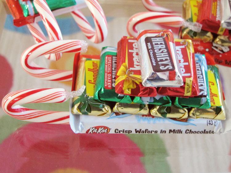 Christmas Candy Sleigh