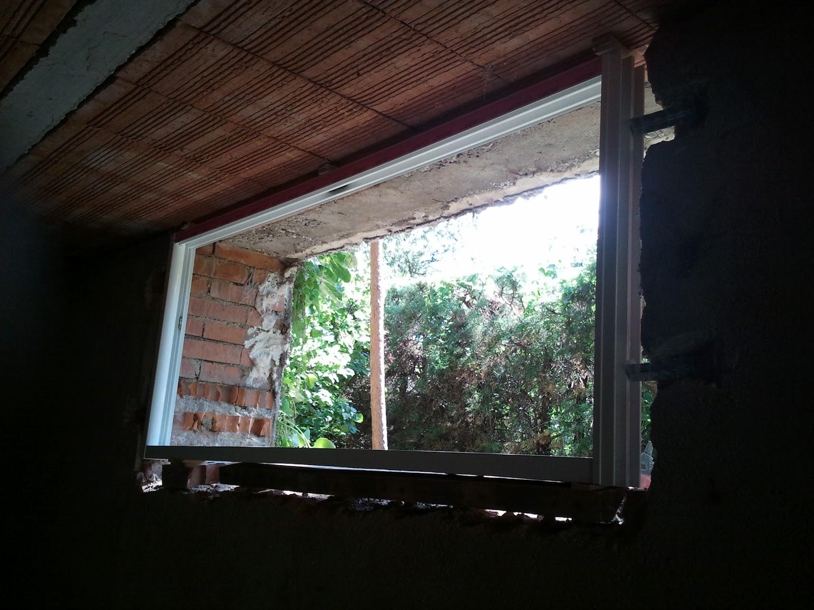 Instalacion de ventanas de aluminio sotano for Instalacion de ventanas de aluminio