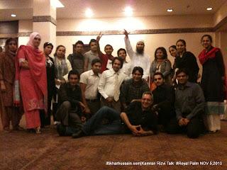 Meetup with Kamran Rizvi group photo, Meetup with Kamran Rizvi at Royal Palm Golf and Country Club, Lahore, Kamran Rizvi Navitus Global