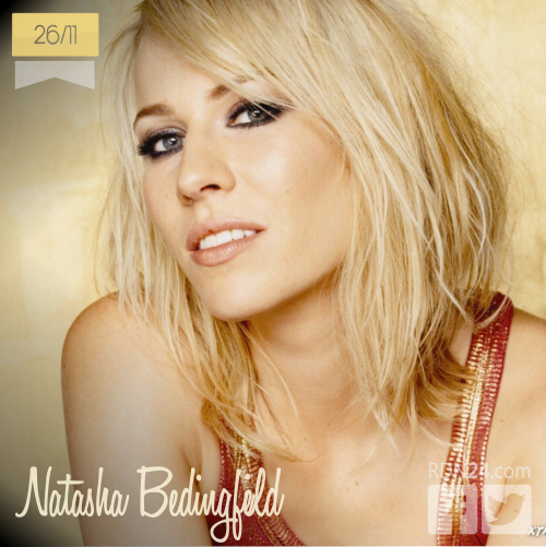 26 de noviembre | Natasha Bedingfield - @natashabdnfield | Info + vídeos