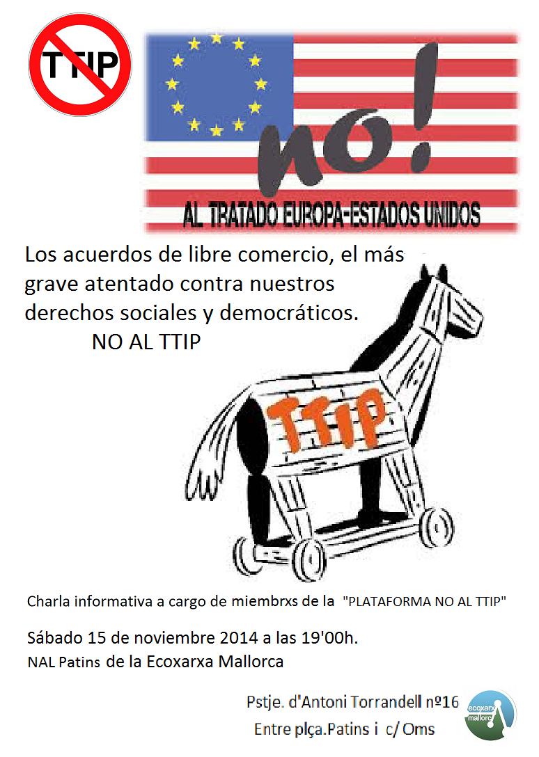 Campanya del NO al TTIP (15-11-14)