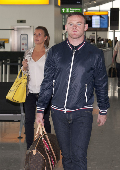 Wayne Rooney With Wife