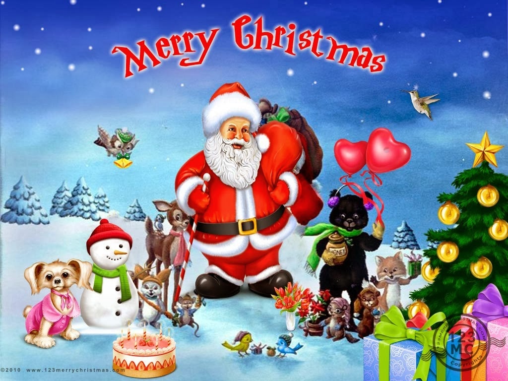 lovely festival merry christmas wallpapers