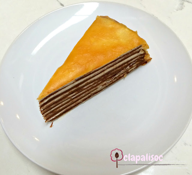 Paper Moon Cafe Glorietta Chocolate Mille Crepe