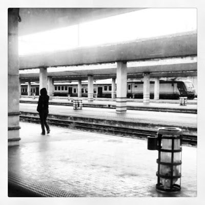 Empty Train Station - Florence, Italy