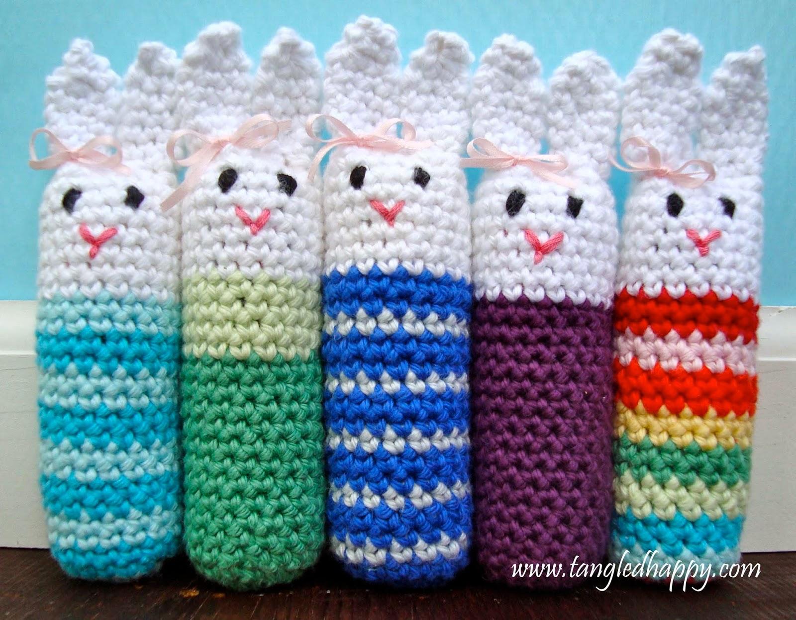 Easy Crochet Amigurumi Free : tangled happy: How To Crochet An Easy Amigurumi Bunny ...