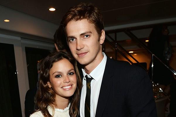 Rachel Bilson and Hayden Christensen became parents