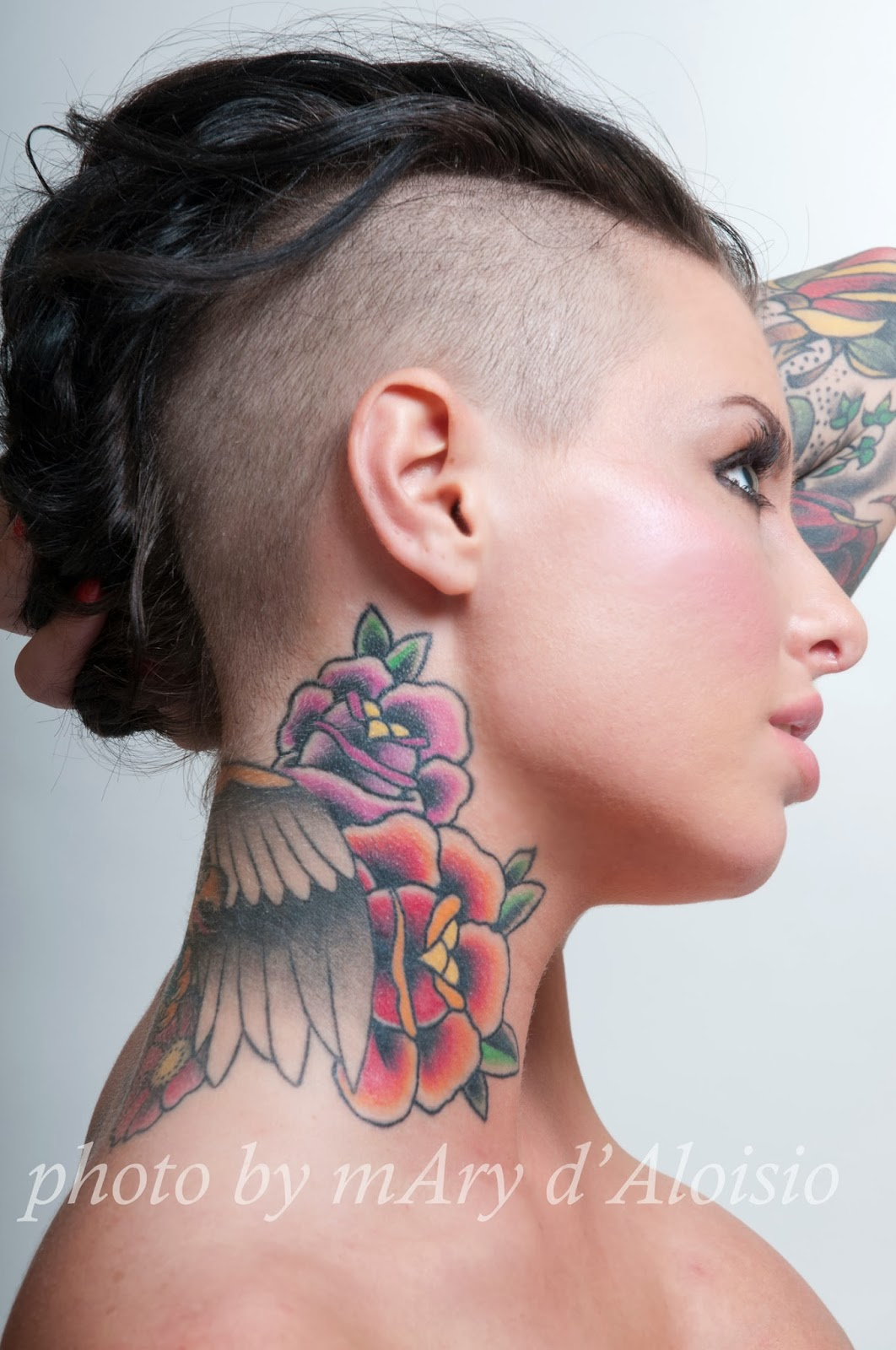 Quixotic as fuddddge christy mack for ink addict for Sex porn tattoo