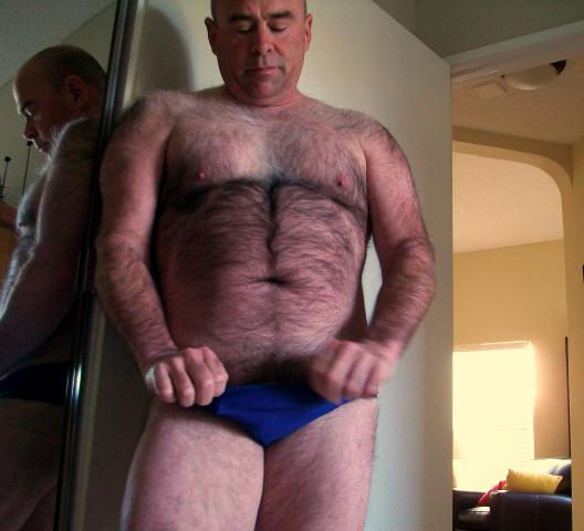 hairy Naked men chubby older