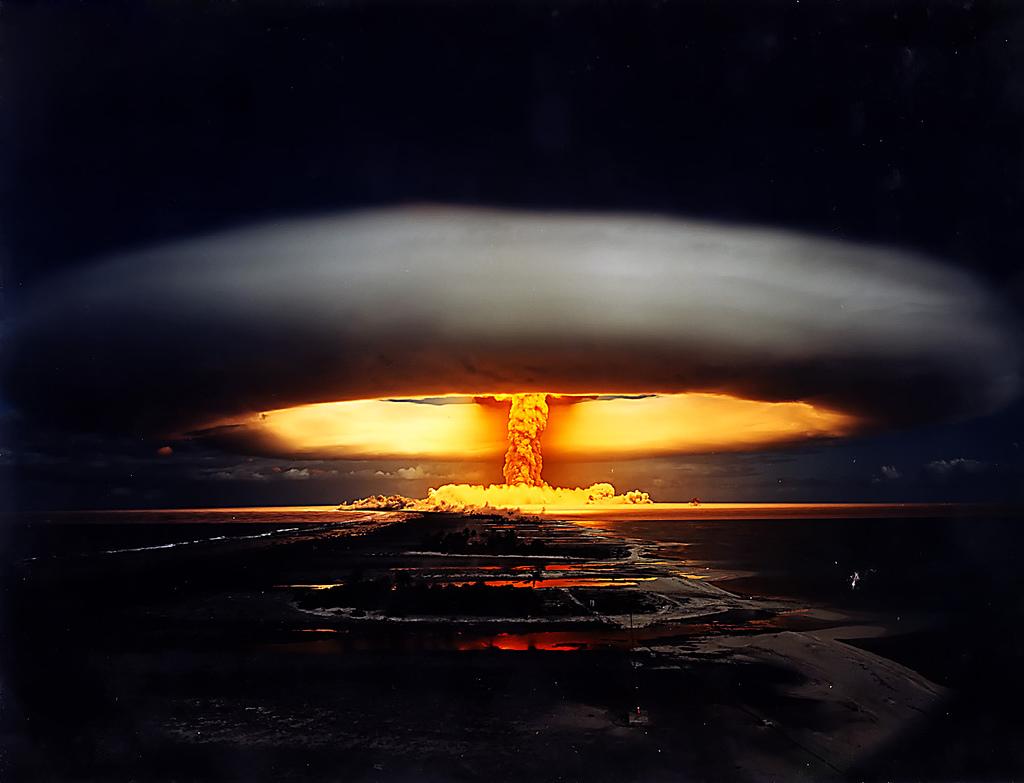 ... Atômicas - Termo Nuclear e Outras - Tsar Bomba - Sete Antigos Heptá