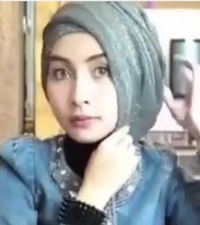 Cara Memakai Jilbab Pesta Simpel Modern Terbaru