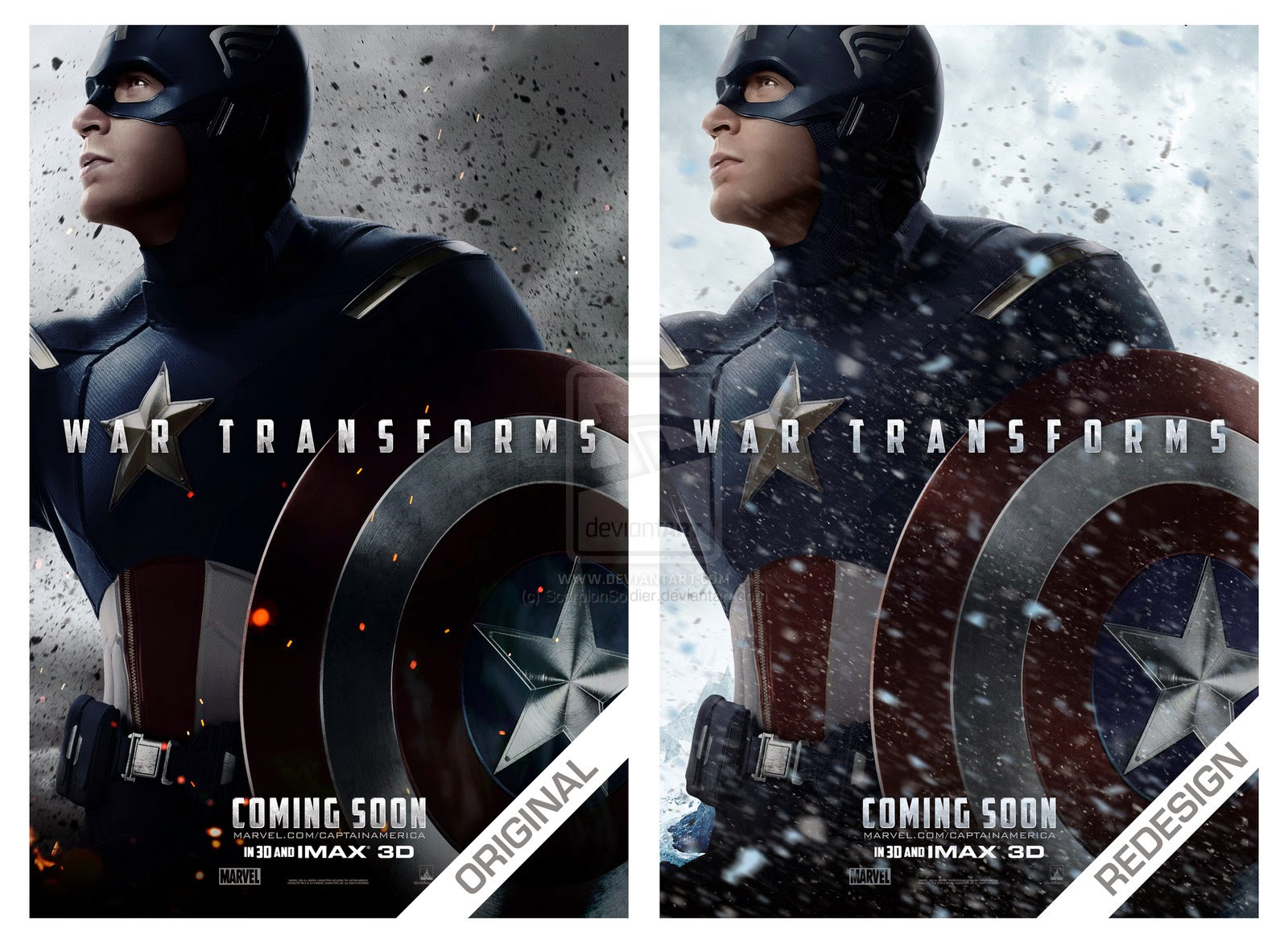 Captain America The Winter Soldier Torrent Poster